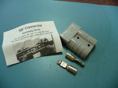 App-anderson Power Products 6319g1 Qty Of 10 Per Lot Sb50 Gray Con 1012 Kit