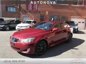 *** 2006 LEXUS IS 250 AWD ***AUTO/FULL OPTIONS/514-812-9994