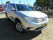 2012 Toyota Kluger GSU40R MY11 Upgrade KX-R (FWD) 5 Seat Silver 5 Speed Automatic Wagon Greenway Tuggeranong Preview