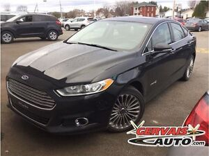 Ford Fusion Titanium Hybrid Navigation Cuir Toit Ouvrant MAGS 20