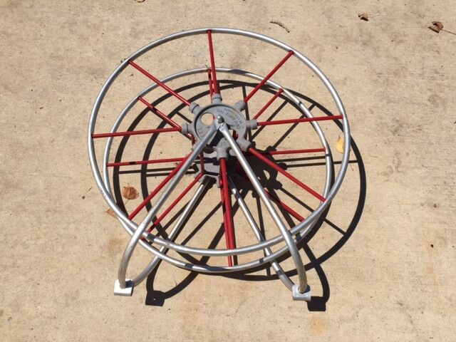 SECO FIRE HOSE reel. RARE item New out of box