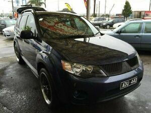2009 Mitsubishi Outlander Slate Blue Manual Wagon Dandenong Greater Dandenong Preview