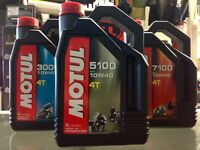 MOTUL 5100 4T SYNTHETIC BLEND 10W40 MOTORCYCLE OIL ON SALE