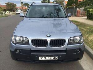 2004 BMW X3 E83 2.5I Silver 5 Speed Automatic Wagon Croydon Burwood Area Preview
