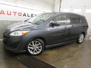 2012 Mazda5 GT 7 PASSAGER CUIR TOIT MAGS CRUISE