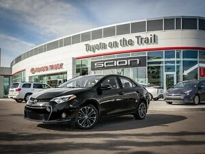 2014 Toyota Corolla S, Leather, Heated Seats, Touch Screen, Back