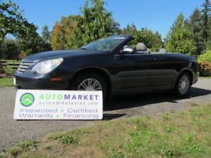 2008 Chrysler Sebring Convertible, LOCAL, INSP, WARR, FINANCE
