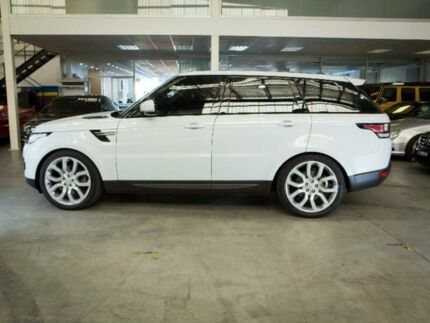 2016 Land Rover Range Rover Sport L494 TDV6 White Sports Automatic Wagon