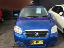 2006 Holden Barina TK Blue 4 Speed Automatic Sedan Cardiff Lake Macquarie Area Preview