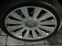 audi (1) wheels 19inches includes new tires