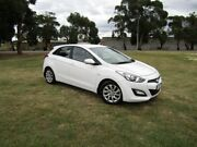 2013 Hyundai i30 GD Active White 6 Speed Sports Automatic Hatchback Invermay Launceston Area Preview