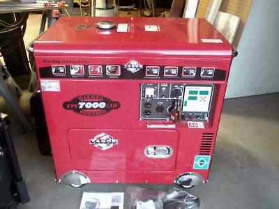 Tahoe Tpi 7000 Diesel Generator New