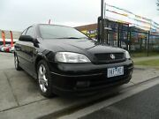 2003 Holden Astra TS MY03 SRi Black 5 Speed Manual Coupe Williamstown North Hobsons Bay Area Preview
