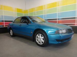 2002 Mitsubishi Magna TJ Executive Bright Island Blue 4 Speed Automatic Sedan Wangara Wanneroo Area Preview