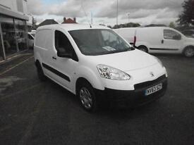 Peugeot Partner L1 850 S 1.6 Hdi 92 Van DIESEL MANUAL WHITE (2014)