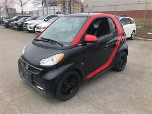 2013 SMART FORTWO PASSION (TOIT PANO, CUIR, NAVI, MAGS, FULL!!!)