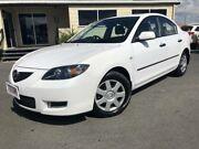 2006 Mazda 3 BK MY06 Upgrade Neo White 4 Speed Auto Activematic Sedan Mackay Mackay City Preview