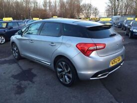 CITROEN DS5 2.0 HDI DSTYLE 5d 161 BHP (silver) 2012