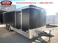 8 X 20 CARGO TRAILER WITH ALL THE UPGRADES INCLUDING D-RINGS!! London Ontario Preview