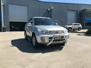 2001 Toyota RAV4 ACA20R Edge (4x4) Silver 5 Speed Manual 4x4 Wagon Newport Hobsons Bay Area Preview
