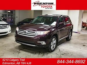 2012 Toyota Highlander Sport, Leather, Heated Seats, Power Lift