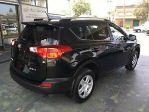 2014 Toyota RAV4 ZSA42R MY14 GX Black CVT Auto 7 Speed Wagon Hamilton Newcastle Area Preview