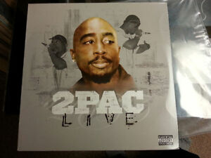 TUPAC 2lp Live double album