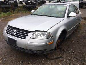 2005 VW Passat TDI just in for parts at Pic N Save!