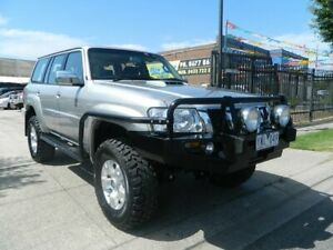 2011 Nissan Patrol GU VII ST (4x4) Silver 5 Speed Manual Wagon Williamstown North Hobsons Bay Area Preview
