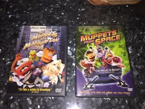 Muppets from Space and Muppets Take Manhattan on DVD (used)