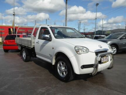 2011 Great Wall V240 K2 MY11 (4x4) White 5 Speed Manual Cab Chassis Brendale Pine Rivers Area Preview