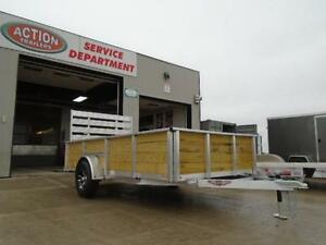 ALL ALUMINUM HIGH SIDED 6.5 X 12' LANDSCAPE TRAILER LOWEST PRICE London Ontario image 8