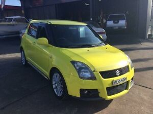 2008 Suzuki Swift RS416 Yellow Manual Hatchback Boolaroo Lake Macquarie Area Preview
