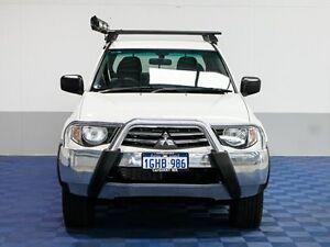 2011 Mitsubishi Triton MN MY11 GLX White 4 Speed Automatic Double Cab Utility