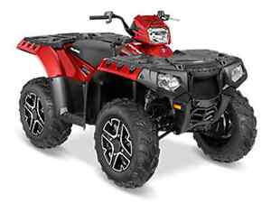 POLARIS SPORTSMAN 850 SP SUNSET RED 2016