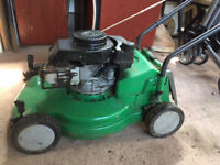 A selection of Rotary and Cylinder Lawmowers