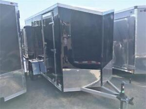 "Aluminum 6x12 Cargo Trailers Barn Doors 6'6"" Interior - Reduced!"