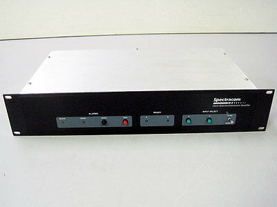 Spectracom 8144-rd Clock Selector Distribution Amp