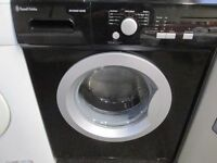 *BLACK*RUSSEL HOBBS 1000 SPIN+LARGE 6KG+WASHING MACHINE+VERY CLEAN+FREE LOCAL DELIVERY+FREE OLD UPLI