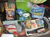 Toys, games, dolls, books, video games and more