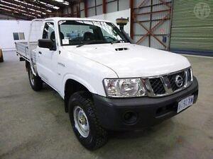 2009 Nissan Patrol GU MY08 DX (4x4) White 5 Speed Manual Bridgewater Brighton Area Preview