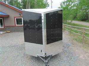 6' x 10' with v-nose & ramp door. Prince George British Columbia image 5