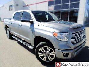 2014 Toyota Tundra Platinum 5.7L 4x4 Crew Max with Remote Start