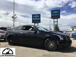 2015 Cadillac ATS Coupe AWD (Heated Leather, Back Up Cam)
