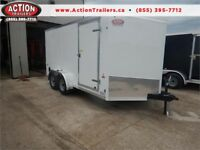 2018 7X14 W/ RAMP DOOR - LOW PRICING FOR A GREAT TRAILER! London Ontario Preview