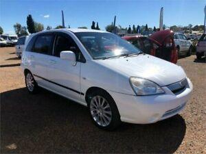 2002 Suzuki Liana RH416 GA White 4 Speed Automatic Hatchback Minchinbury Blacktown Area Preview