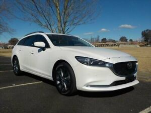 2019 Mazda 6 6C MY18 (gl) Touring (5Yr) Snowflake White Pearl 6 Speed Automatic Wagon Armidale Armidale City Preview