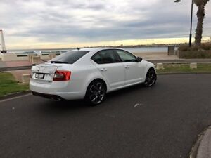 2015 Skoda Octavia NE MY15.5 RS Sedan DSG 162TSI White 6 Speed Sports Automatic Dual Clutch Liftback West Melbourne Melbourne City Preview
