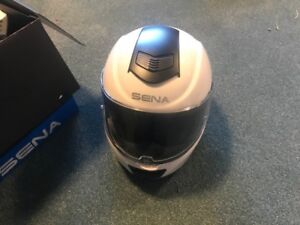 Sena INC Motorcycle Helmet SZ Medium