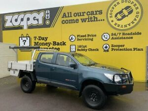 2014 Holden Colorado RG MY14 LX Crew Cab Blue 6 Speed Manual Utility Invermay Launceston Area Preview